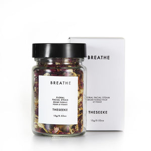Theseeke - Breathe Floral Facial Steam - 15g - Folkstore Fitzroy