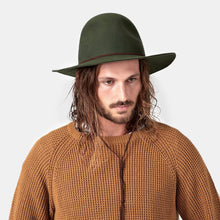 Will and Bear - Woodley Hat - Green - Folkstore Fitzroy