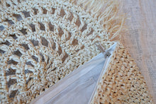 Raffia Decorative Fan Clutch - Folkstore Fitzroy