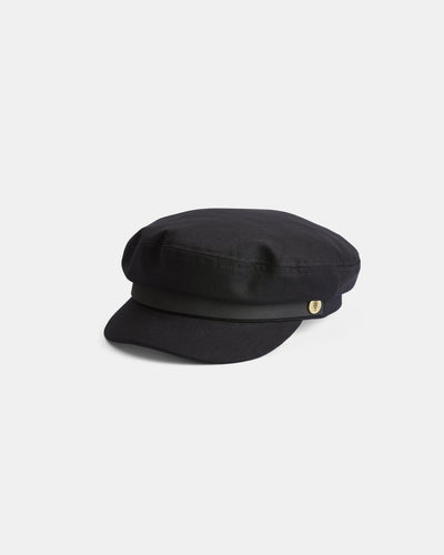 Will and Bear - Foster Cap - Black - Folkstore Fitzroy