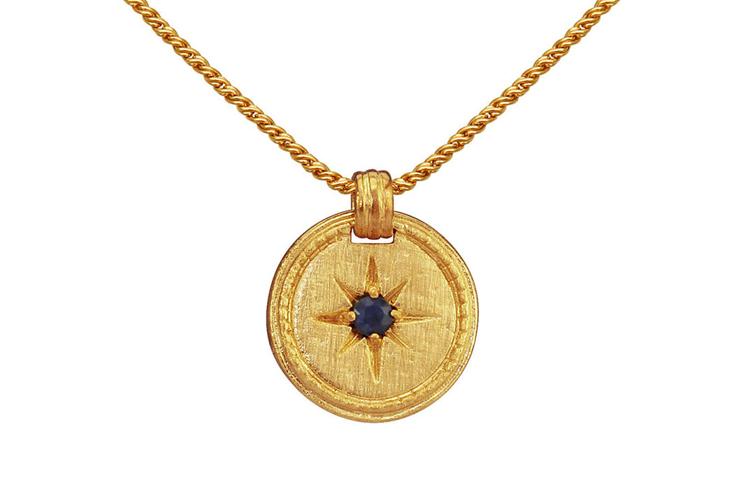 Temple of the Sun - Stella Necklace - Gold - Folkstore Fitzroy