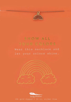 Show All Your Colors Necklace