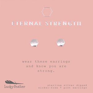 Eternal Strength Stud Earrings