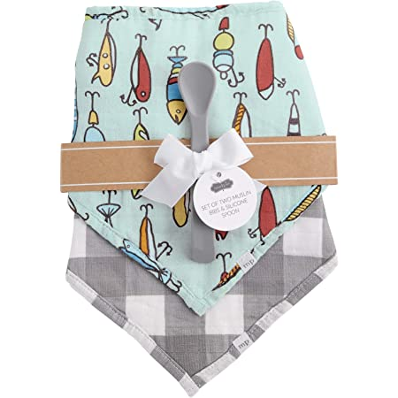Bibs and Spoon Set