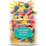 Candy Club- Small Sour Gummy Octopus