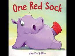 One Red Sock Board Book