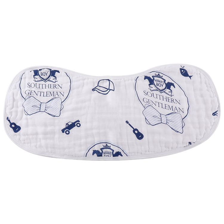 Southern Gentleman Burp Cloth + Bib