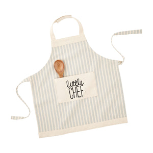 Kid's Apron & Spoon Set