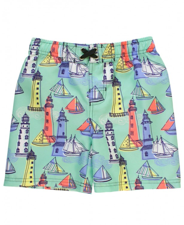 Light The Way Swim Trunks