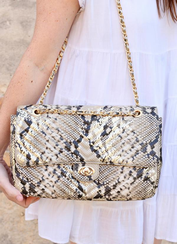 Collins Large Quilted Crossbody