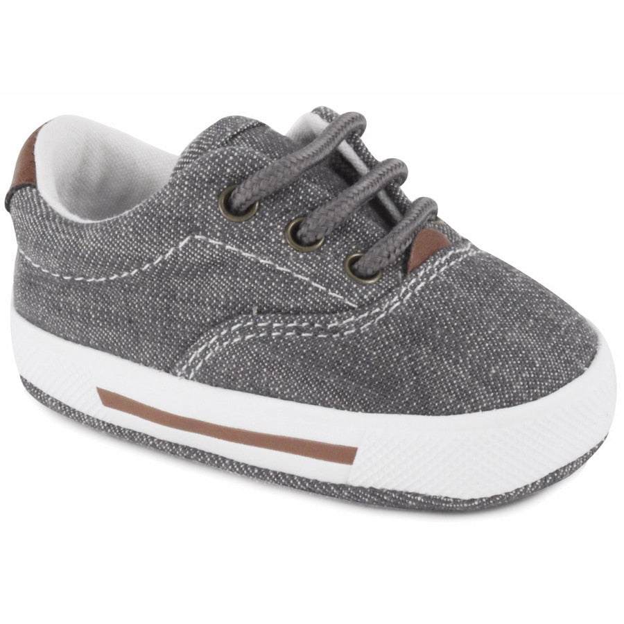 Milo Denim Sneaker-Grey Soft Sole