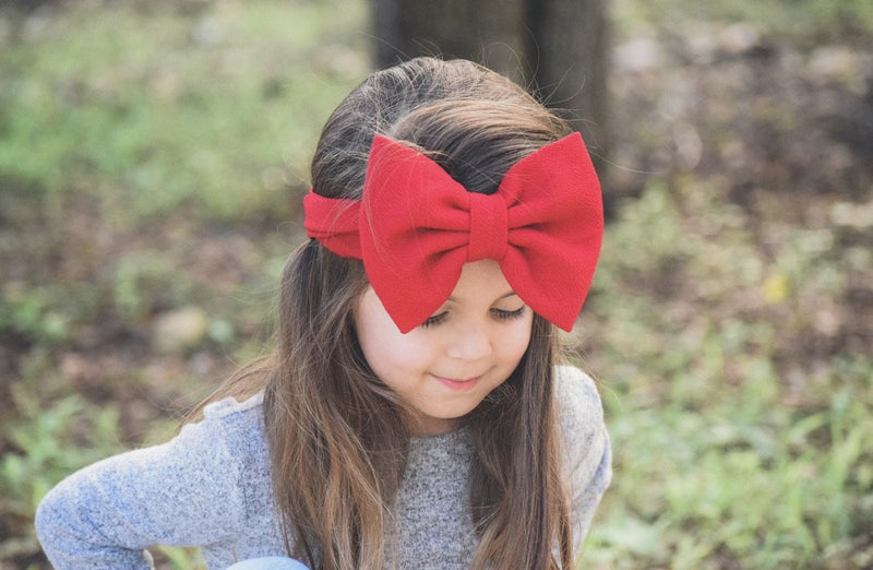 Bow Wrap-Red