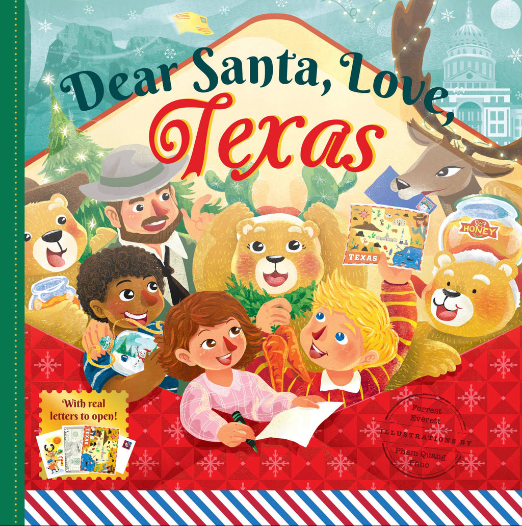 Dear Santa, Love Texas Book