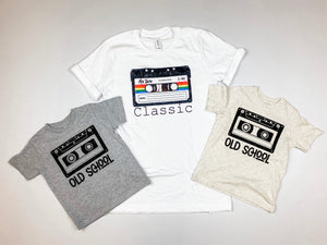 Old School Kids Tee