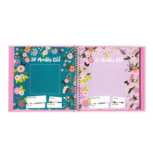 Baby's First Year Memory Book-Simply Floral