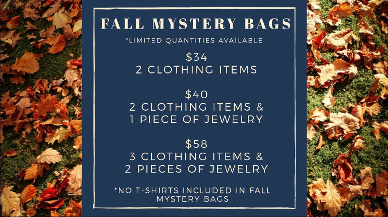 Fall Mystery Bags