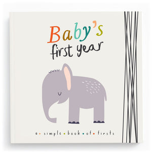 Baby's First Year Memory Book-Little Animal