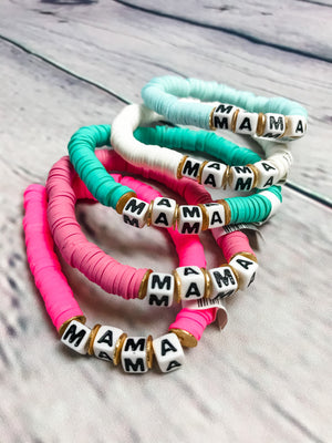 Color Pop Bracelet - Mama
