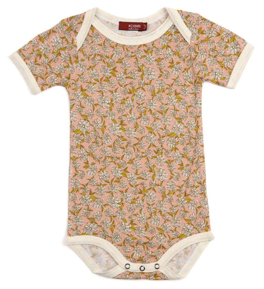 Bamboo Onesie-Rose Floral
