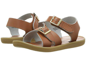 Leather Sandals-Tide Tan