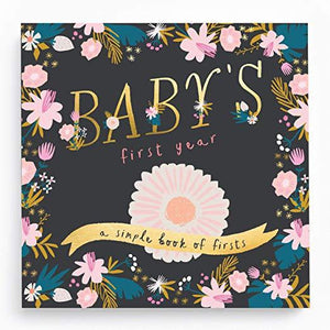 Baby's First Year Memory Book-Golden Blossom