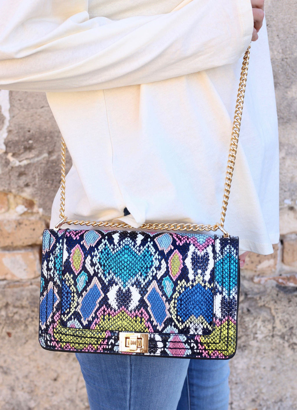 Blakeley Crossbody With Chain Strap