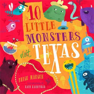 10 Little Monsters Visit Texas Book