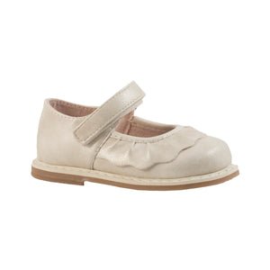 Kamdyn Scalloped Mary Jane Shoe-Ivory