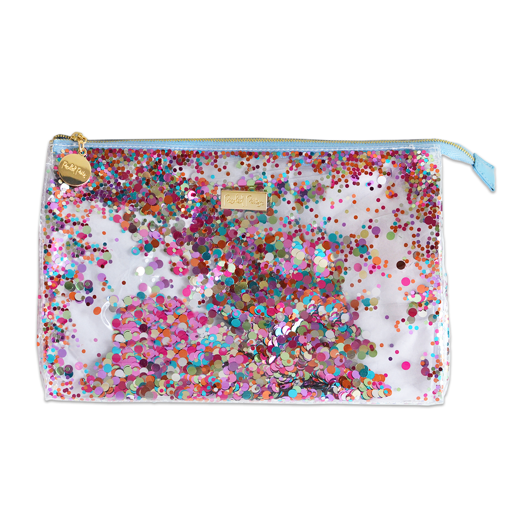Confetti Biggie Cosmetic Bag
