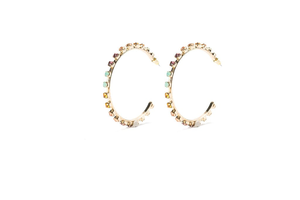 "Elyse 2"" Hoop Earrings"
