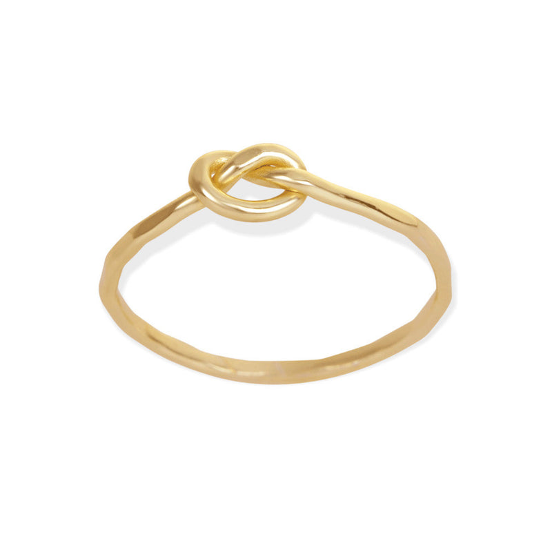 Knotted Ring-Gold