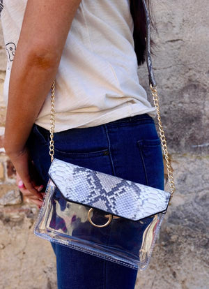 Clear Tailgate Crossbody Bag