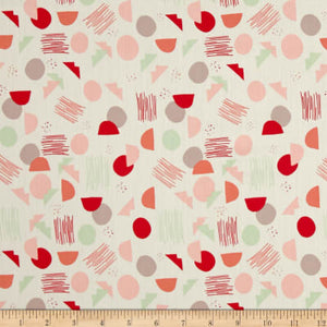 reusable beeswax wrap medium pink red green splotches 30cm square