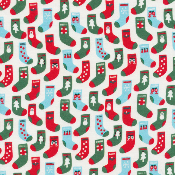 reusable beeswax wrap small red green white 23 cm square christmas stockings