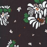 beeswax wrap jumbo 50cm black white floral