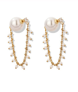 Party Pearl Earrings