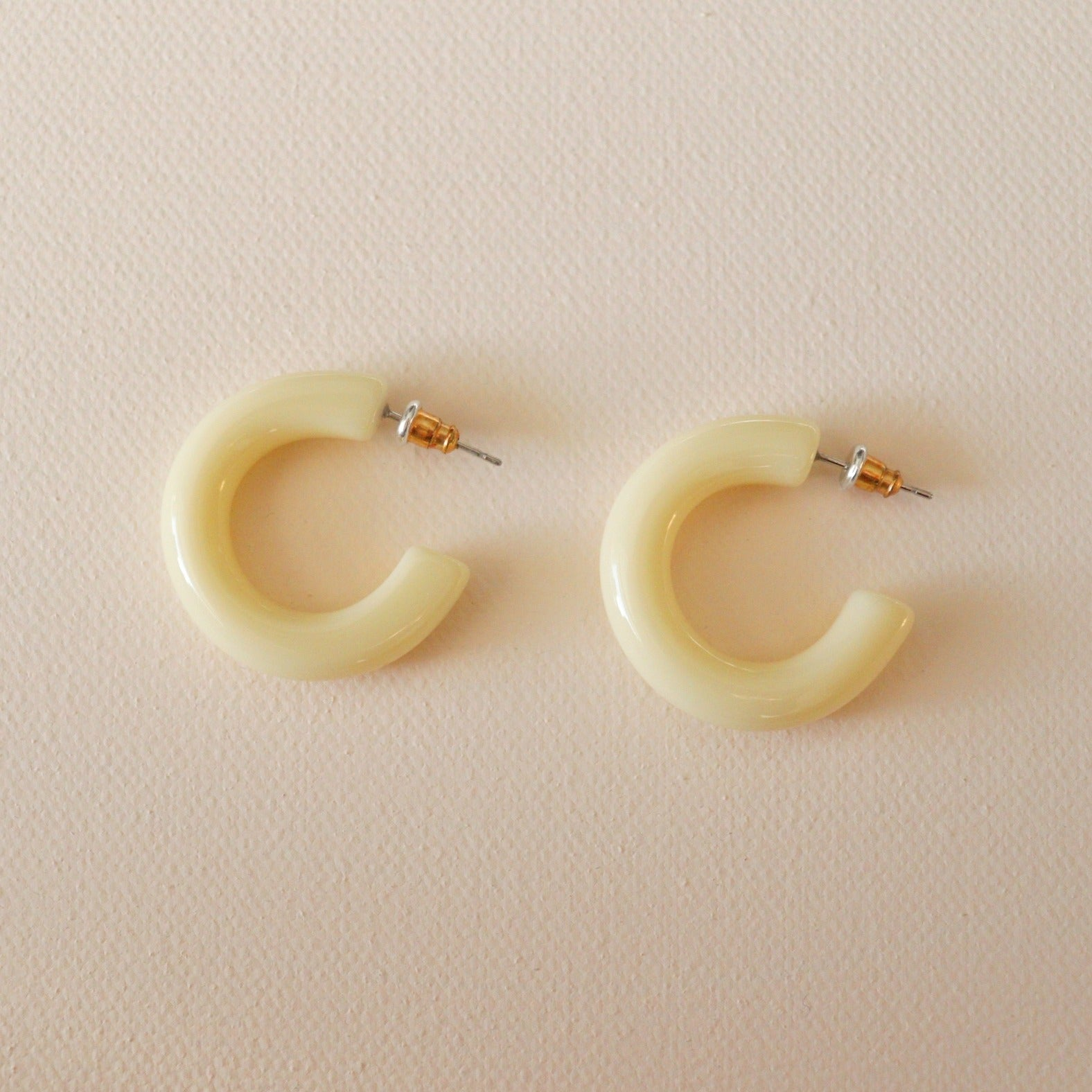 Crema Hoops - Yellow