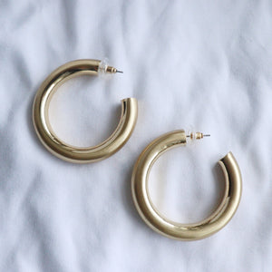 Biebs Gold Hoops