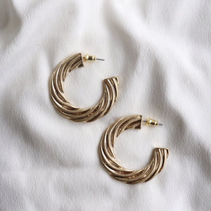 Cece Gold Hoops