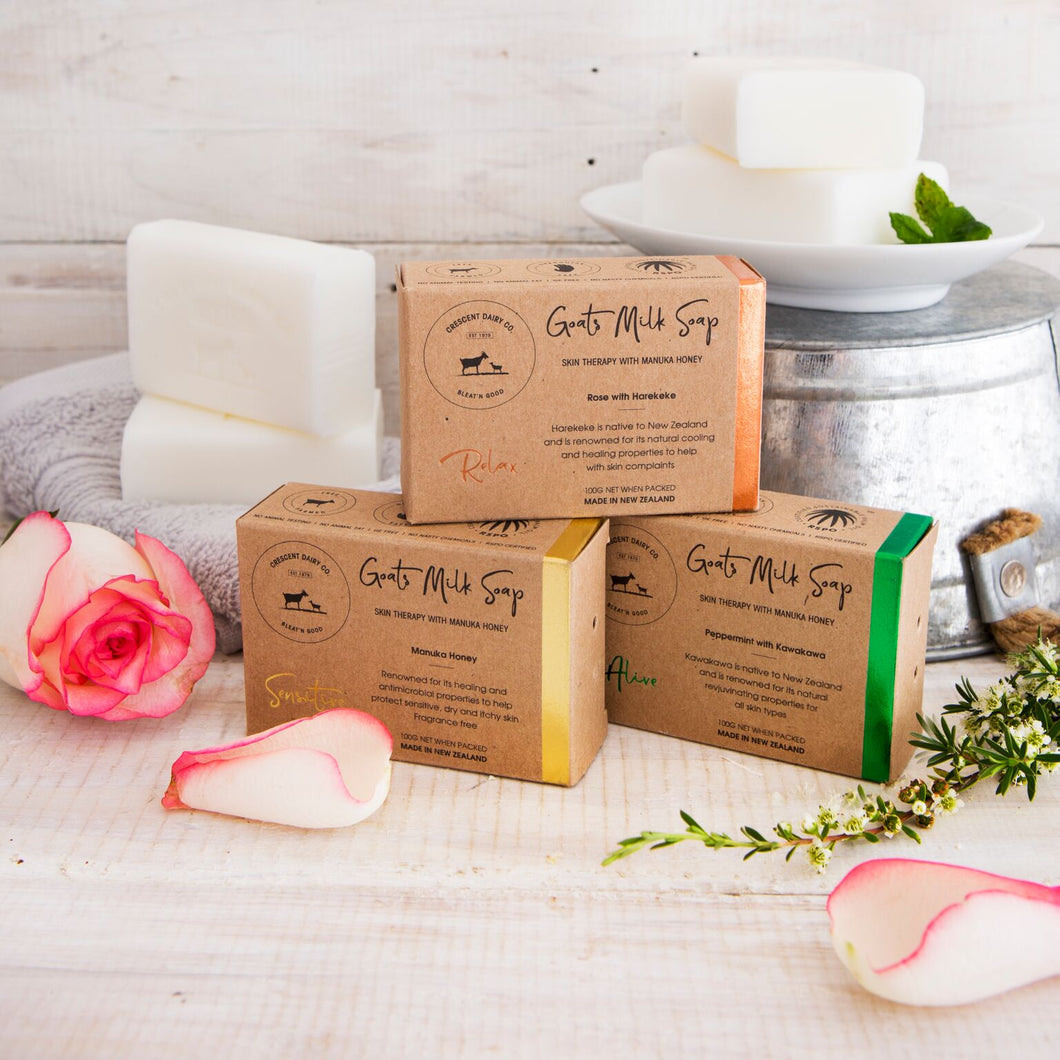 goat milk natural soothe soap