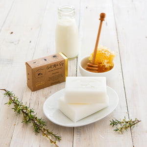 Goat milk soap natural manuka honey