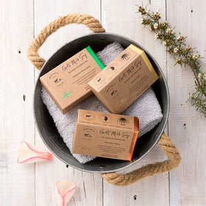 Goats Milk Soap natural three pack special