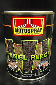PANEL FLECK BEIGE 1L MOTOSPRAY UTE TUB CHOOK LINER BOAT TRUCK SPRAY PROTECT