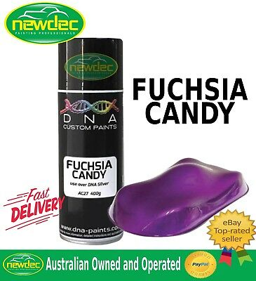 CANDY FUCHSIA SPRAY PAINT DNA TOUCH UP MET PANEL CUSTOM AUTO AEROSOL WHEELS DIY