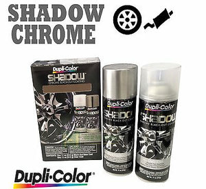 DUPLICOLOR SHADOW CHROME BLACK OUT KIT SHD1000 COATING PACK BRAKE RIMS CALIPER