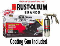 RUST-OLEUM TRUCK BED LINER KIT SPRAY PROFESSIONAL Rubberised Paint Tub Ute Tray