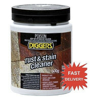 DIGGERS RUST AND STAIN CLEANER 500G HEAVY DUTY TIMBER MASONRY SURFACE CLEANER