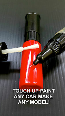 VOLVO TOUCH UP PAINT KIT 3 BOTTLES BRUSH AND PEN MADE TO YOUR COLOUR CODE