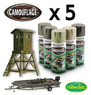 RUSTOLEUM CAMOUFLAGE SPRAY PAINT COMBAT HUNTING MASKS RUST-OLEUM CAMO PAINT
