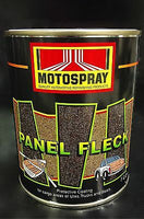PANEL FLECK GREY 1L MOTOSPRAY UTE TUB CHOOK LINER BOAT TRUCK SPRAY PROTECT